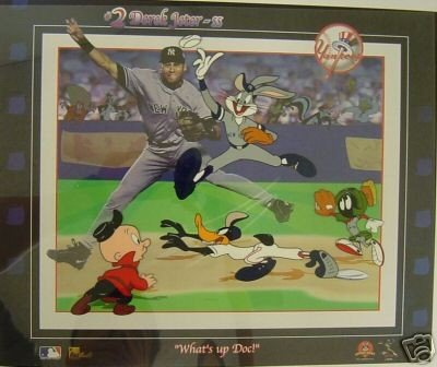6: DEREK JETER WHAT'S UP DOC BUGS BUNNY LTD ED