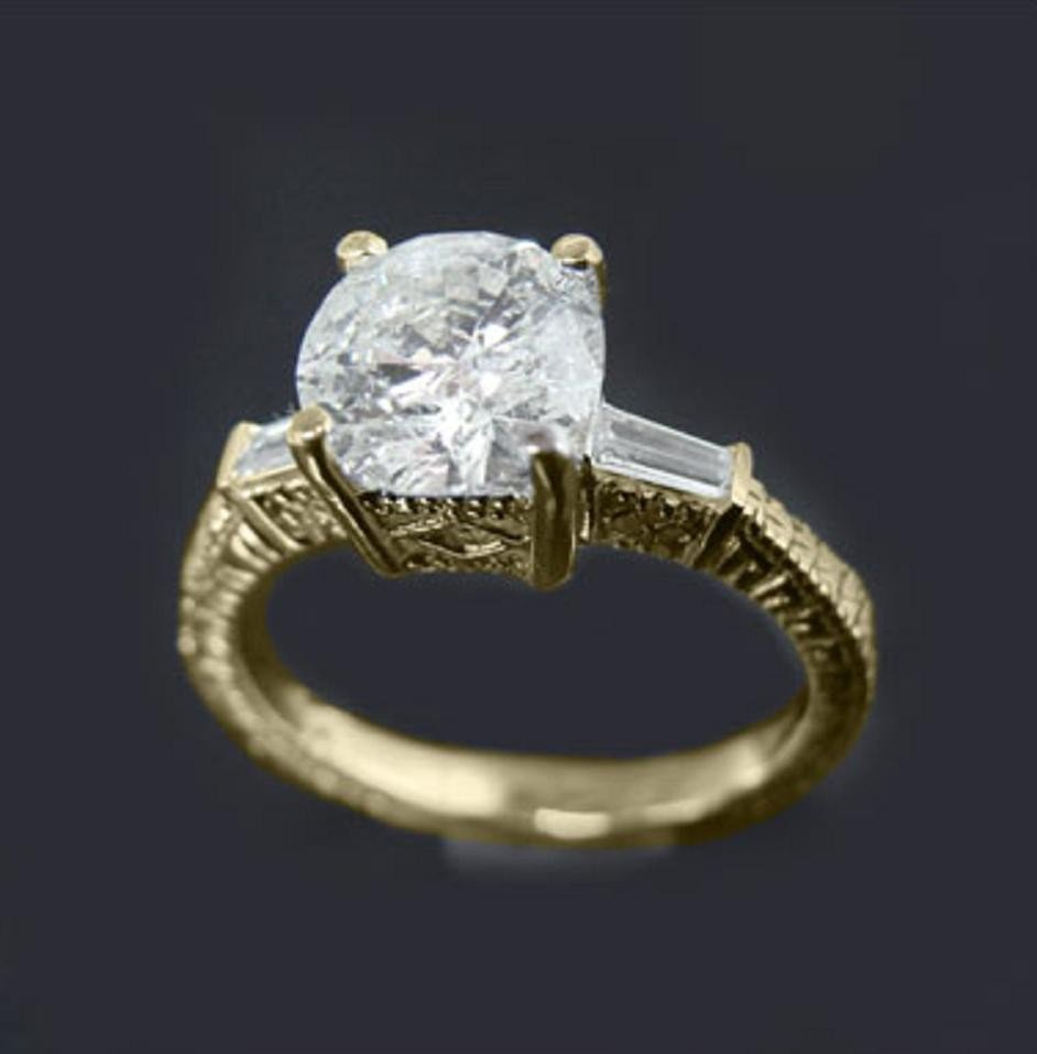 15: 1.5 CT Diamond Ring Appraised at $15,000
