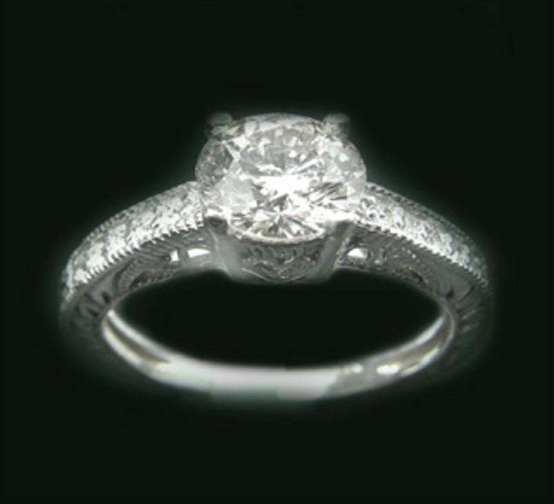 152: 1.25 CT Diamond Ring Appraised at $16,200