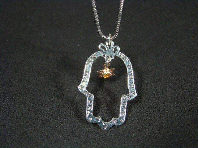 4: Kabbalah Jewelry Daphne Hamsa Pendant