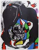 60 Joan Miro REVOLUTION 2 Lithograph