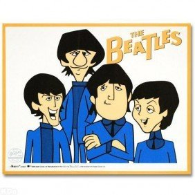 """16: Limited Edition Sericel THE BEATLES """"The Beatles"""""""