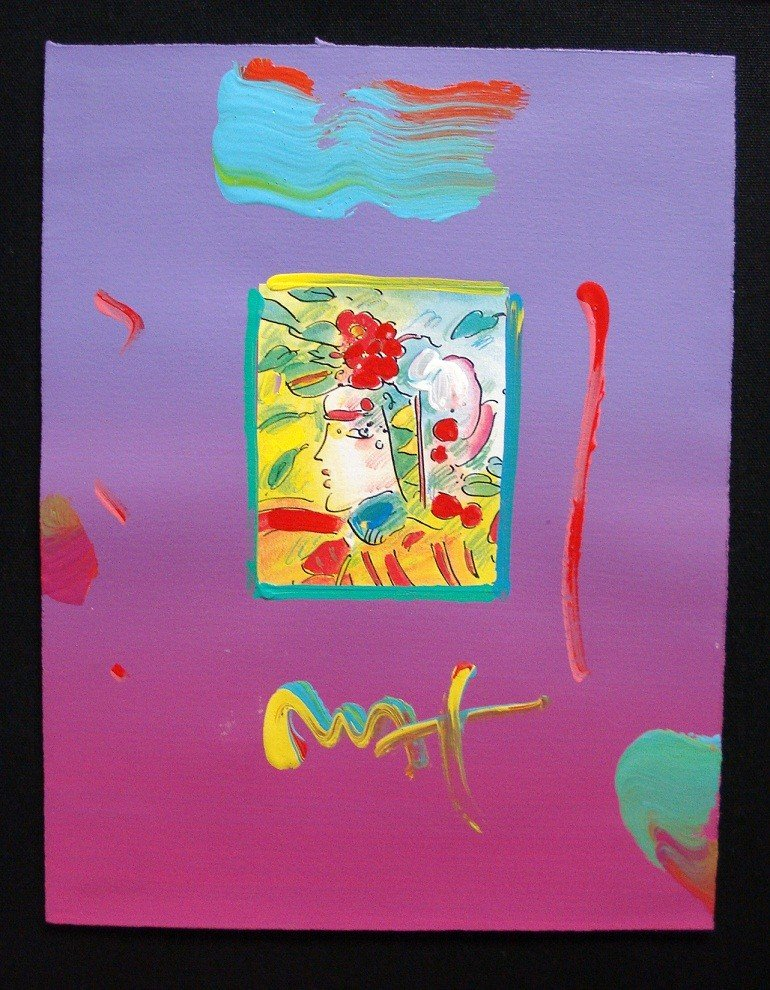 """16: """"Profile Series 2005"""" by Peter Max"""