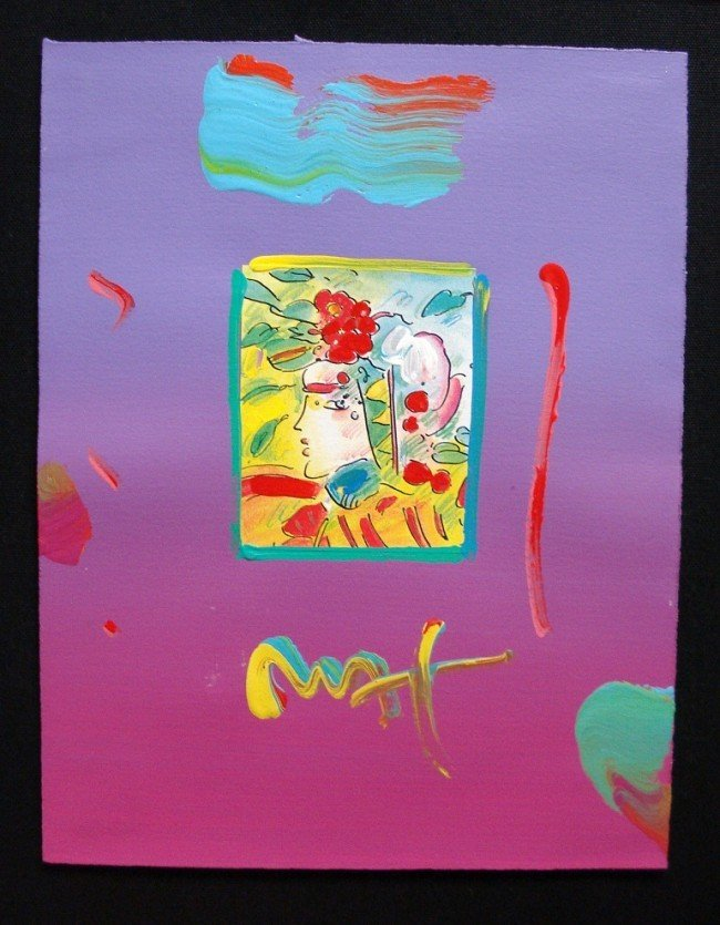 """13: """"Profile Series 2005"""" by Peter Max"""