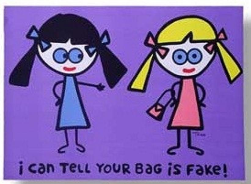 """15: """"I Can Tell Your Bag Is Fake"""" by Todd Goldman"""