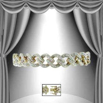 4: 1.25 CT Diamond Bracelet