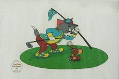 189: Limited Ed. Sericel, Tom and Jerry Golf #2