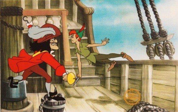 """199: Walt Disney """"Peter Pan"""" Serigraph Cel"""