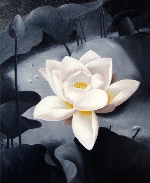 """360: Modern Taste Oil Painting """"Enlightenment"""""""