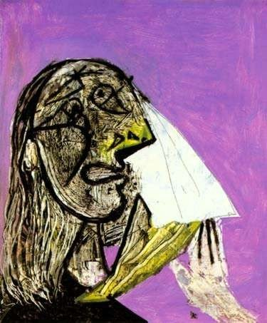 6: WEEPING WOMAN Picasso Estate Signed Giclée