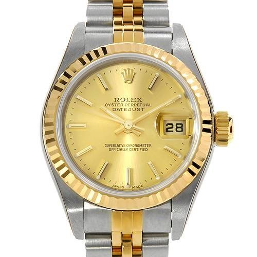 20: ROLEX Swiss Movement Gold And Stainless Steel Watch