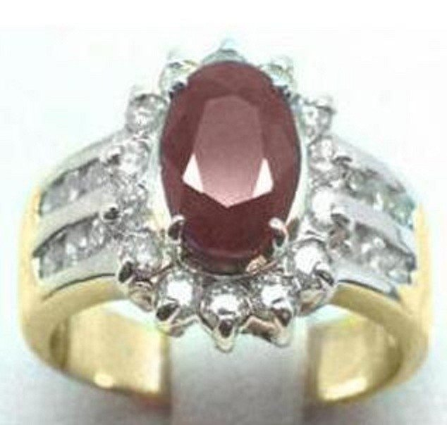 70: Ruby and Diamond Ring - Appraised at $8,600