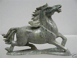 83: REAL JADE RUNNING HORSE