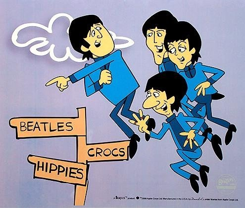 """85: Limited Ed. Animation Sericel, The Beatles - """"In Ai"""