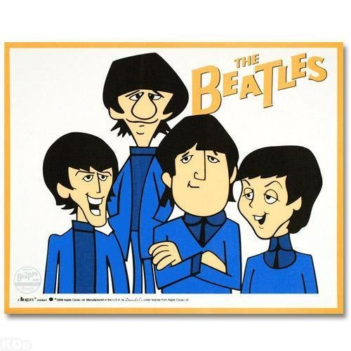 122: Limited Edition Animation Sericel, The Beatles - T