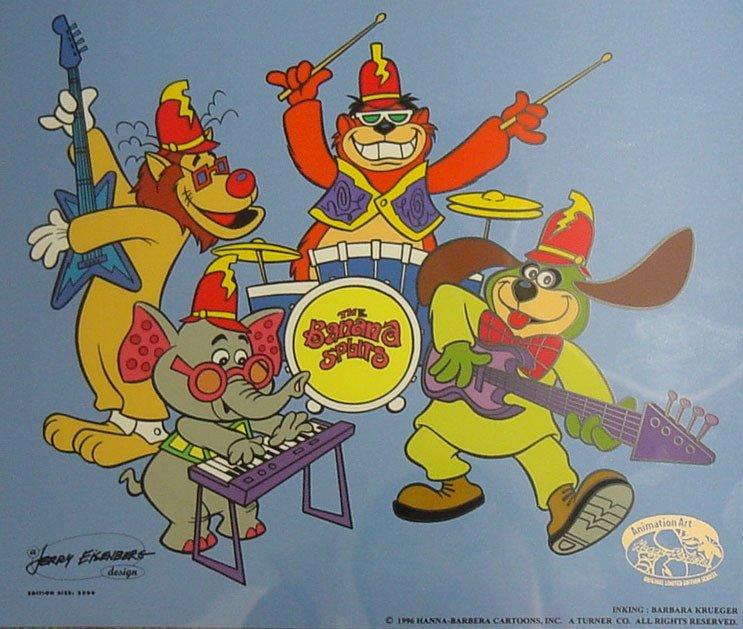 194: Animation Sericel Tra-La-La Hanna Barberra Studios