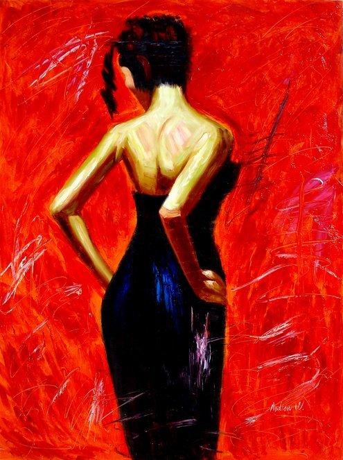 210: Huge Oil Painting on Canvas  - Radiance