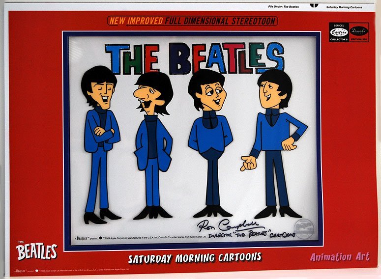 """211: THE BEATLES """"Casual"""" Signed by Ron Campbell"""