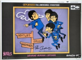 """THE BEATLES """"In The Air"""" Signed By Ron Campbell"""