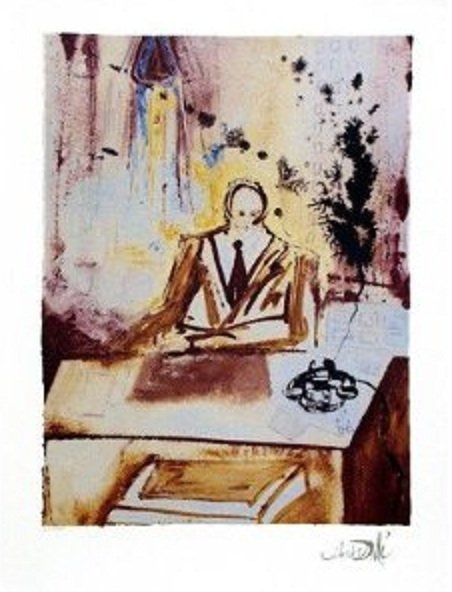 "150: Dali Ltd Ed. Lithograph ""The Businessman"""