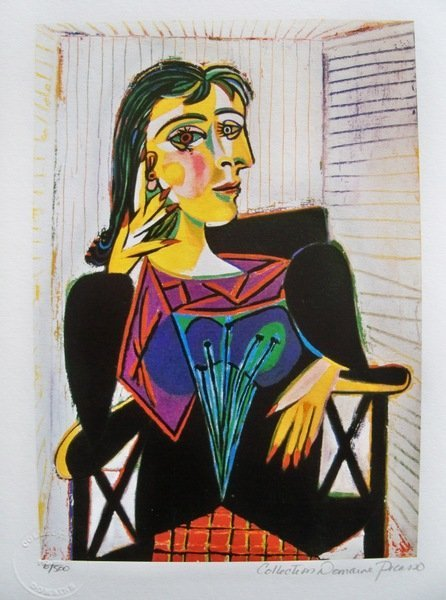 191: Picasso DORA MAAR Limited Ed. Giclee