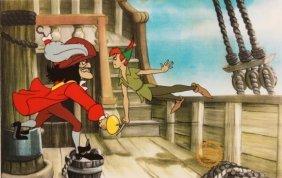 """Walt Disney """"Peter Pan"""" Serigraph Cel"""