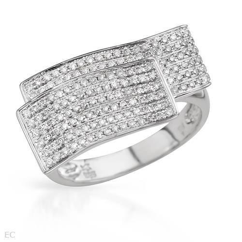 19:0.55 CTW Color G-H Diamonds 14K Gold Ring $8725