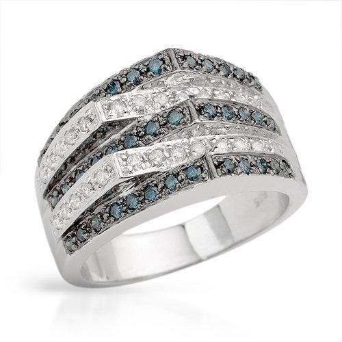76: 0.55 CTW I1-I2 Color G-I Diamonds 14K Gold $8575