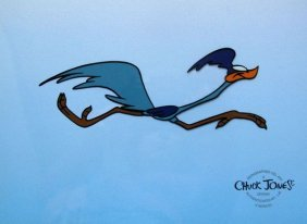 ROAD RUNNER BEEP-BEEP CROSSING Sericel