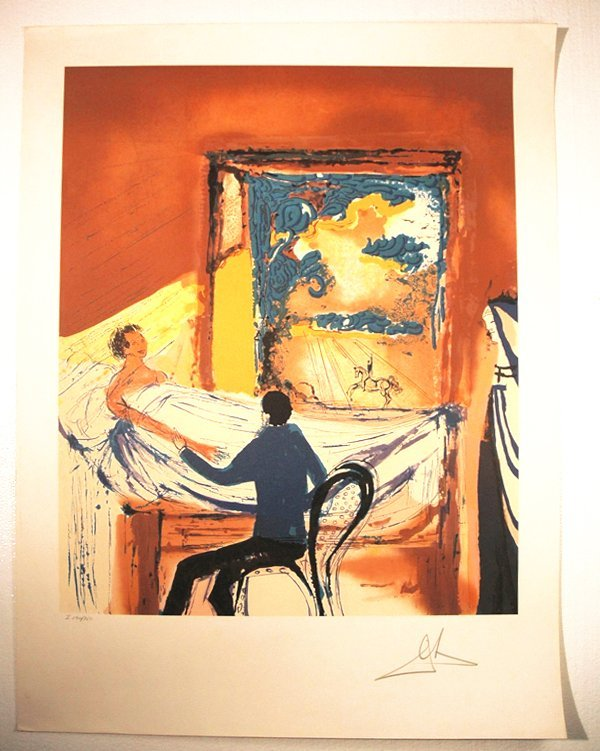 156: Dali Lithograph The Doctor