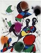404 Joan Miro REVOLUTION 2 Lithograph