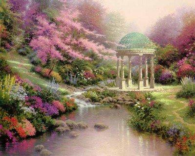 "76: Thomas Kinkade""Pools of Serenity"""