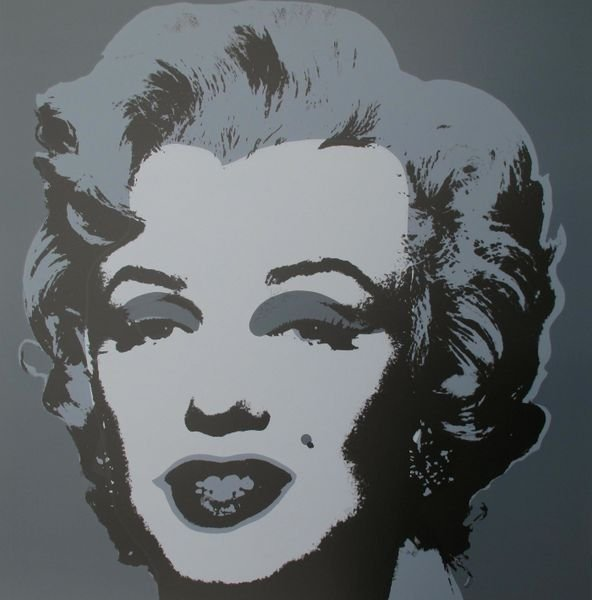 22:Andy Warhol MARILYN MONROE Sunday B Morning Serigrap