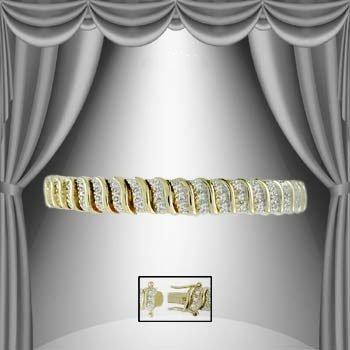 21: 1.50 CTW Diamond Tennis Bracelet