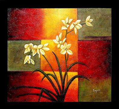 22: Silent Song, Fine Art Oil Painting