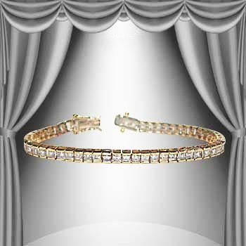 23: 1.67 CTW Diamond Tennis Bracelet
