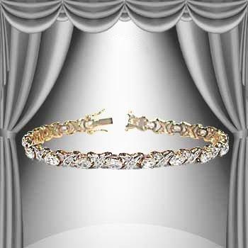 1: 2 CTW Diamond Bracelet