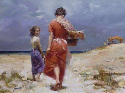 "12: Pino ""SUMMER RETREAT"" Ltd Ed. Giclee on Canvas"
