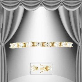 1.17 CTW Diamond Tennis Bracelet