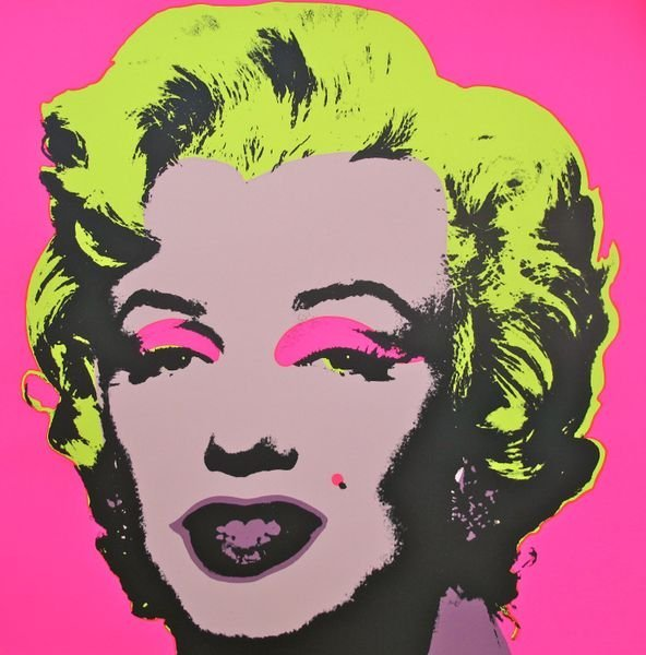 Andy Warhol MARILYN MONROE Sunday B. Morning Serigraph