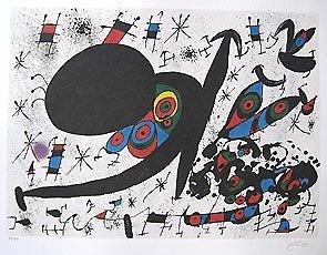 Joan Miro HOMAGE TO JOAN PRATS