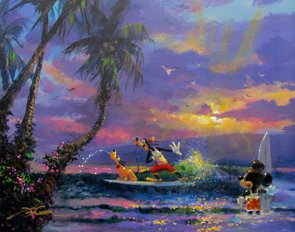 "James Coleman ""SUMMER ESCAPE"" Disney Mickey Mouse Hand"