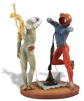 Dali The Poetry Of America - Cosmic Athletes