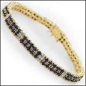Jewelry Sale 1769 CT Sapphire  Diamond Bracelet