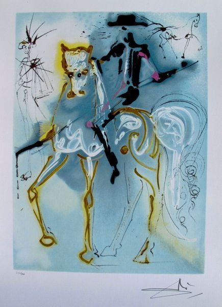 """Salvador Dali Ltd Ed. Lithograph """"PICADOR"""""""