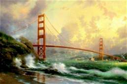 Kinkade Fine Art Lithograph Golden Gate Bridge