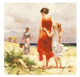 "Pino ""BREEZY DAYS"" Ltd Ed. Giclee on Canvas"