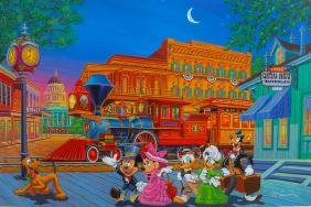 "MANNY HERNANDEZ DISNEY ""ARRIVING IN STYLE"" Hand Signed"
