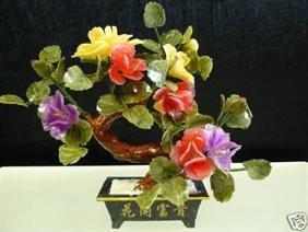 REAL JADE BONSAI FLOWER