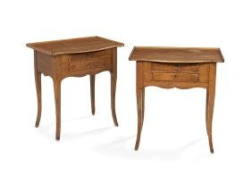 Pair of French Provincial-Style End Tables